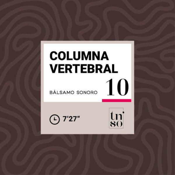 TNSO miniatura Bálsamo Sonoro 10 Columna vertebral