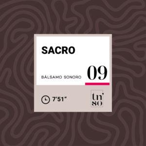 TNSO miniatura Bálsamo Sonoro 09 Sacro